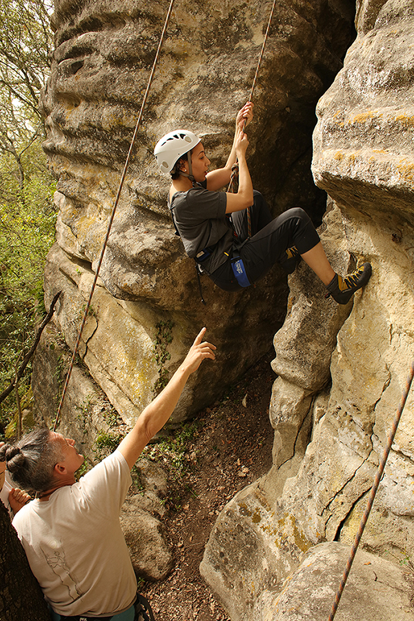Climbing Monitor - Buoux and surroundings (Luberon)