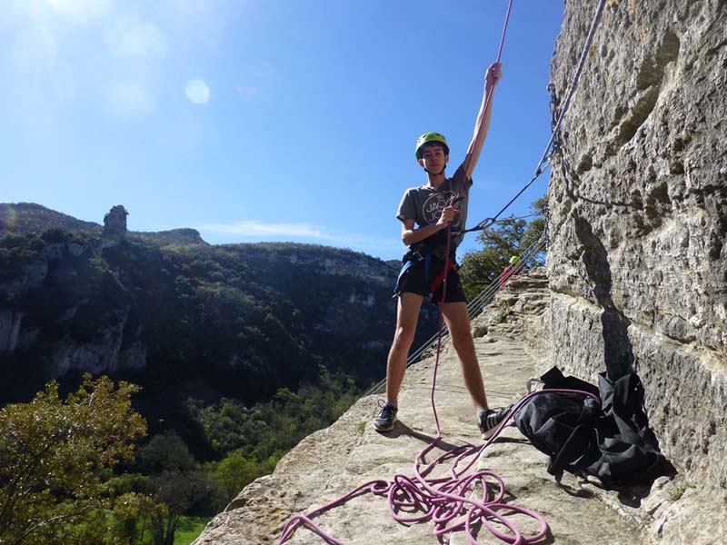 Climbing in Buoux and surroundings